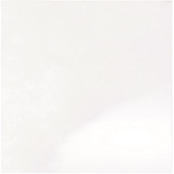 Vit Carpio slät blank 1013