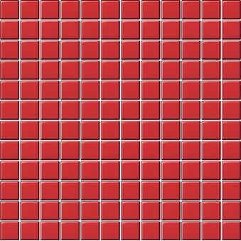 Glasmosaik Röd blank 7986