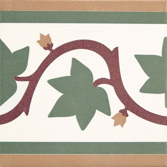 Kerion Branche Faixa röd/gul/grön 4817
