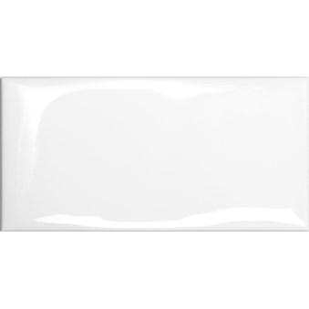 Cotton White Vit Vågig Glossy Blank 7262