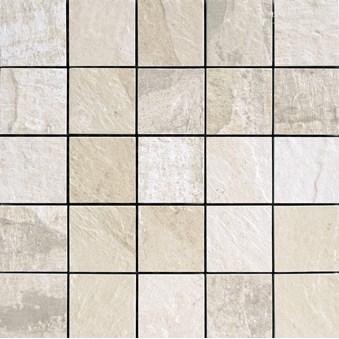 NAT HNT10 White Vit Mosaik 5547