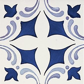 Rustica Oropesa Azul/Blå Blank Dekor 3166