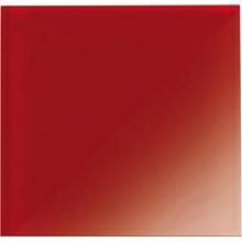Glas Röd blank