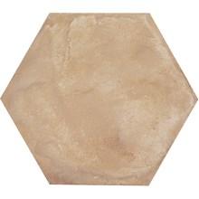 Terra Ocra Ljusbrun Hexagon