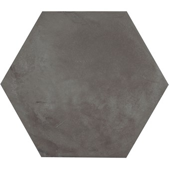 Terra Nero Svart Hexagon 4722