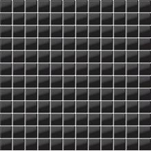 Glasmosaik Svart Blank(G03)