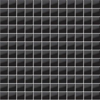 Glasmosaik Svart Blank(G03) 5633