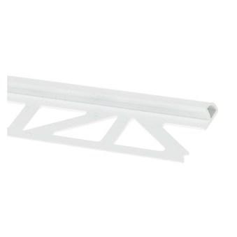 Kakellist plast vit 12,5 mm 2,5 m 26080