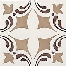 Rustica Oropesa Siena/Brun Blank Dekor