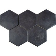Hexatile Negro Svart