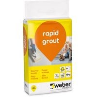 Weber Rapid Grout 20 Graphite 3KG 2733