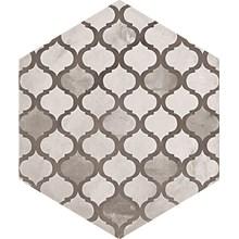 Terra Black/Grey Hexagon Mix Dekor