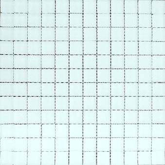 Glasmosaik Vit blank 7985