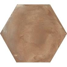Terra Rosso Brun Hexagon