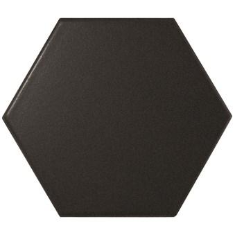Scale Black Svart Hexagon 7778