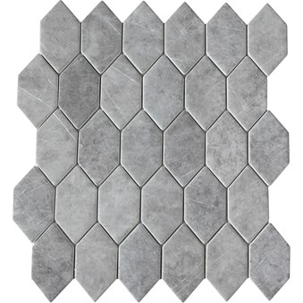 Urban Grå Romb Mosaik 7274