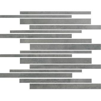 Damasco Gris grå stavmosaik 5306