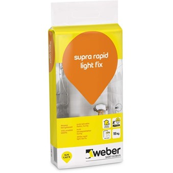 Weber Supra Rapid Lightfix 15kg 27182