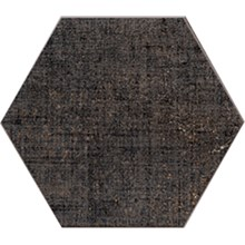 Textile Antracit Hexagon
