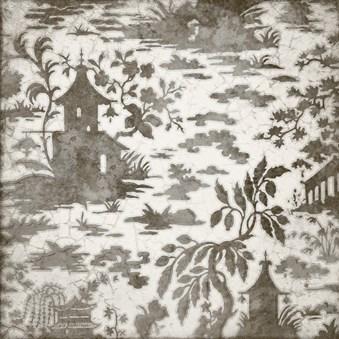 Maiolica Ornamenta Grigio Grå Dekor 5573