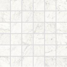 Marmi Cararra Naturale Mosaik Rect