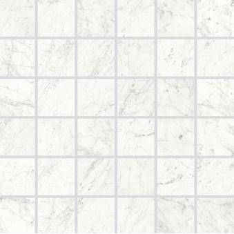 Marmi Cararra Naturale Mosaik Rect 7029