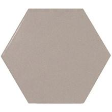 Scale Grey Grå Hexagon