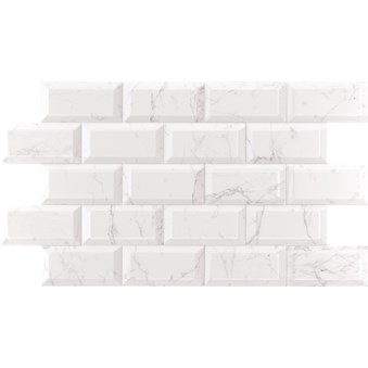 Vit White Fasad Carrara Blank 8079