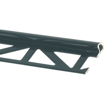 Kakellist kv.rund alu svart 12,5 mm 15573