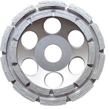 Slipskål dubbel Silverline 125/22 23mm Torranv.