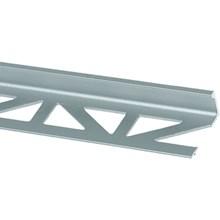 Kakellist rak 12,5 mm silverelox. alu. matt