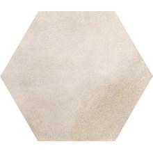 Keramos Lindos Vit Hexagon
