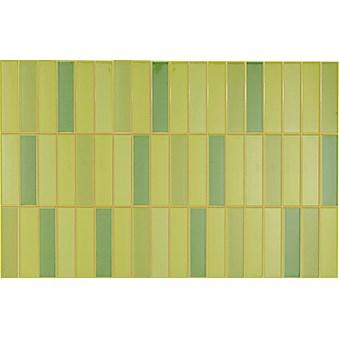 Illusion Mosaik clorofila grön 5335