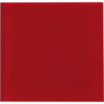 Glas Liso Red Röd 7246