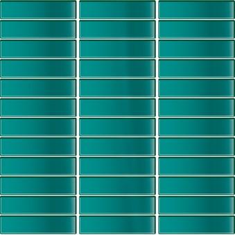 Glasmosaik Turkosblå Blank(E31) 5630