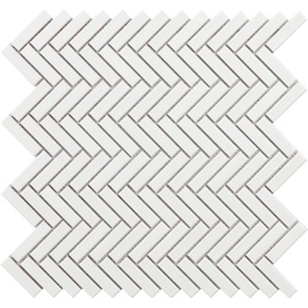 Tech Chevron Vit Blank Mosaik 7296