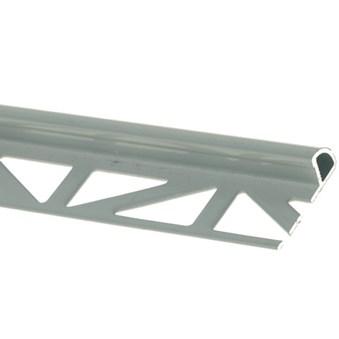 Kantlist alu. grå 10mm 2,5m 15551