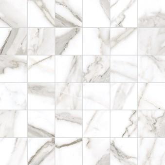 Marmi Statuario Levigato Mosaik Rect 7042