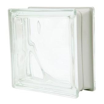 Glasblock frostad 2 sidor 1908/WM 7909