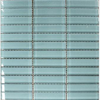 Glasmosaik Isblå Blank(B39) 5628