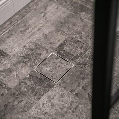 Kalk Grå (15x15 cm). Foto: Västanhem