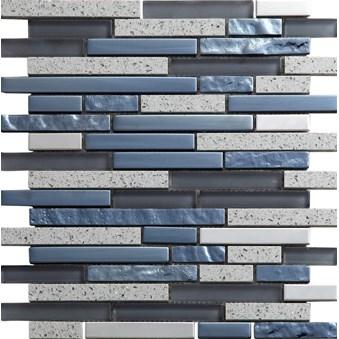 Quartz Grey Grå Stavmosaik 7200