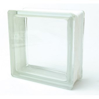 Glasblock P klar slät 3190/DT 3410