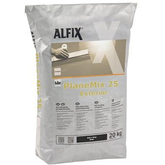 Planmix 25 exteriör 20 kg 21661