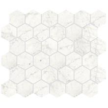 Marmi Cararra Naturale Hexagon Rect