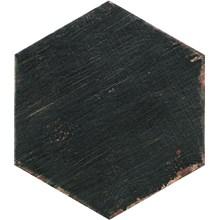 Retro Negre Svart Hexagon