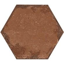 Bricklane Röd Hexagon