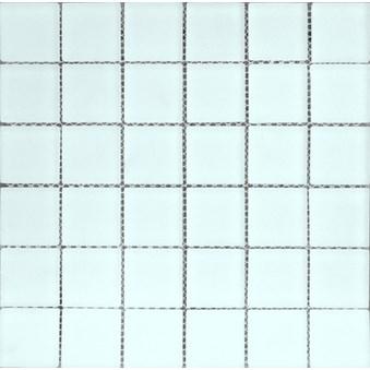 Glasmosaik Vit blank 7981