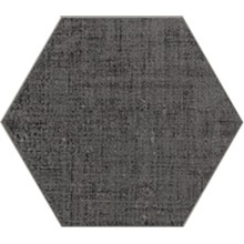 Textile Grå Hexagon