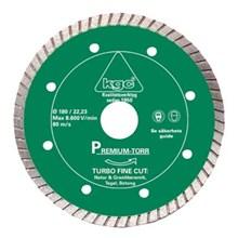 Diamantklinga Turbo Fine 125/22 23mm Torrkap